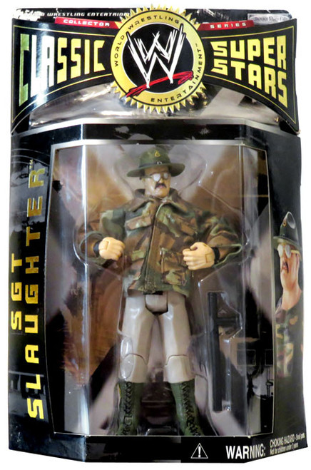 WWE Wrestling Classic Superstars Series 2 Sgt Slaughter Action Figure
