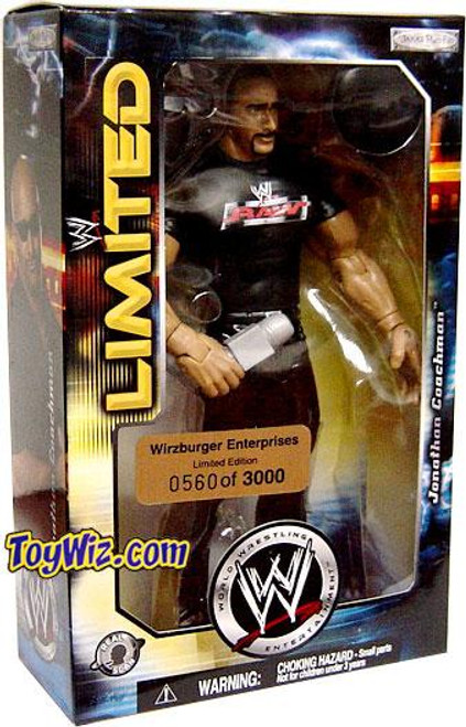 WWE Wrestling Wizburger Enterprises Jonathan Coachman Action Figure