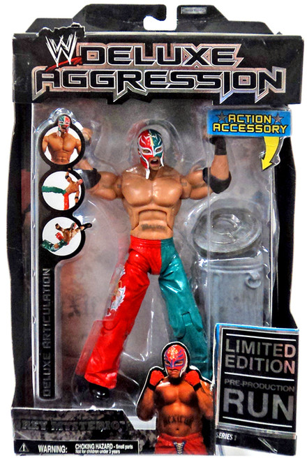 WWE Wrestling Deluxe Aggression Rey Mysterio Action Figure