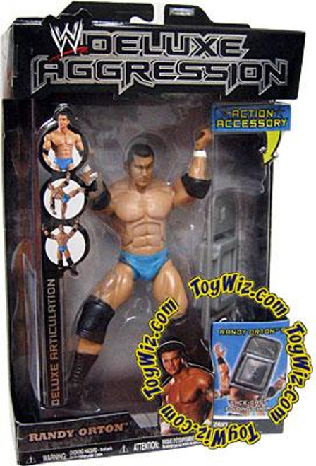 WWE Wrestling Deluxe Aggression Series 1 Randy Orton Action Figure