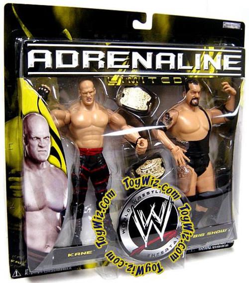 WWE Wrestling Adrenaline Limited Kane & Big Show Exclusive Action Figure 2-Pack