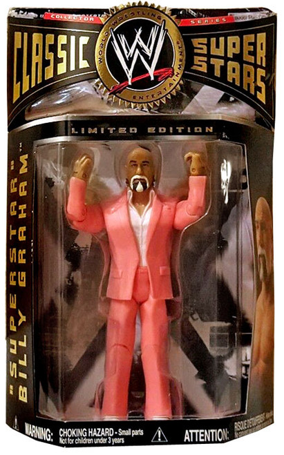 WWE Wrestling Classic Superstars Limited Editions Superstar Billy Graham Exclusive Action Figure [Pink Suit]