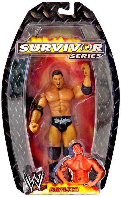 WWE Wrestling Survivor Series 2006 Batista Action Figure