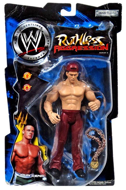 WWE Wrestling Ruthless Aggression Series 3 John Cena Action Figure