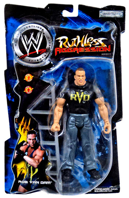 WWE Wrestling Ruthless Aggression Series 3 Rob Van Dam Action Figure