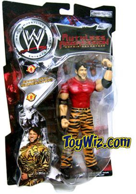 WWE Wrestling Ruthless Aggression Series 2 Rico Action Figure