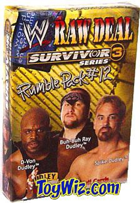 WWE Wrestling Raw Deal Trading Card Game Survivor Series 3 Rumble Pack #12 Starter Deck #12