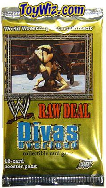 WWE Wrestling Raw Deal Trading Card Game Divas Overloaded Divas Overload Booster Pack