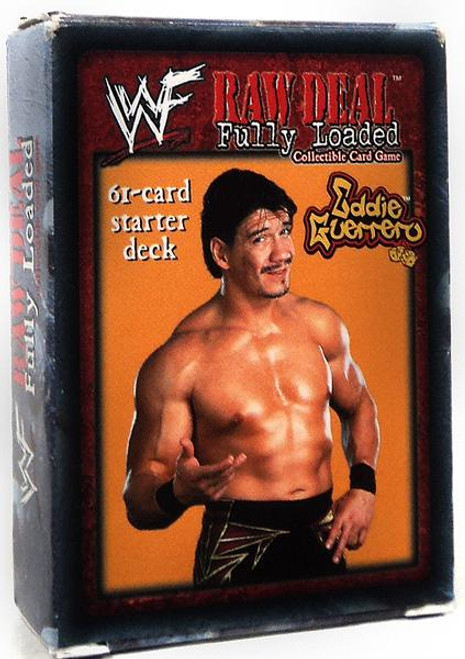 WWE Wrestling Raw Deal Trading Card Game Fully Loaded Eddie Guerrero Starter Deck
