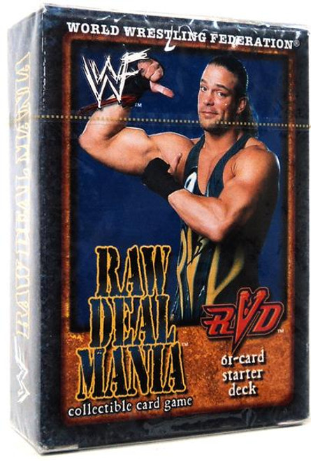 WWE Wrestling Raw Deal Trading Card Game Raw Deal Mania RVD Starter Deck