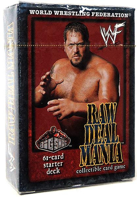 WWE Wrestling Raw Deal Trading Card Game Raw Deal Mania Big Show Starter Deck