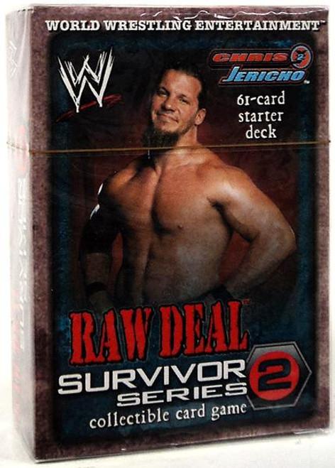 WWE Wrestling Raw Deal Trading Card Game Survivor Series 2 Chris Jericho Starter Deck