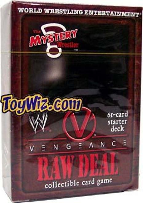 WWE Wrestling Raw Deal Vengeance The Mystery Wrestler Starter Deck