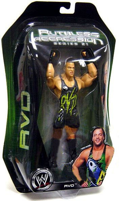 WWE Wrestling Ruthless Aggression Series 21 Rob Van Dam Action Figure