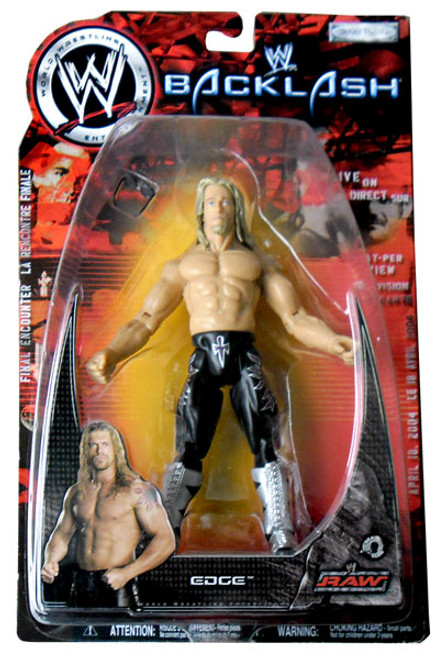 WWE Wrestling Backlash Series 2003 Edge Action Figure