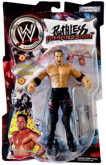 WWE Wrestling Ruthless Aggression Series 1 Chavo Guerrero Action Figure