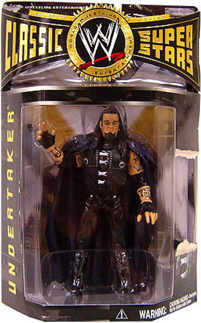 WWE Wrestling Classic Superstars Series 3 Undertaker Action Figure