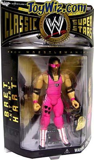 "WWE Wrestling Classic Superstars Series 3 Bret ""Hitman"" Hart Action Figure"
