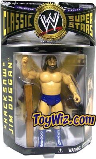 WWE Wrestling Classic Superstars Series 4 Hacksaw Jim Duggan Action Figure