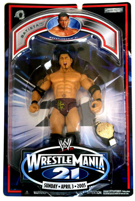 WWE Wrestling WrestleMania 21 Series 2 Batista Exclusive Action Figure