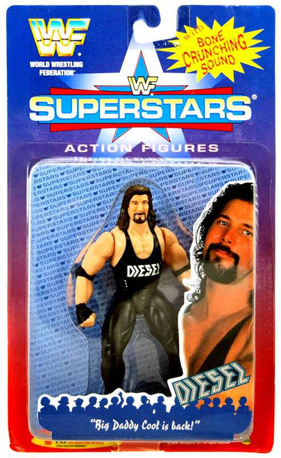 WWE Wrestling WWF Superstars Diesel Action Figure