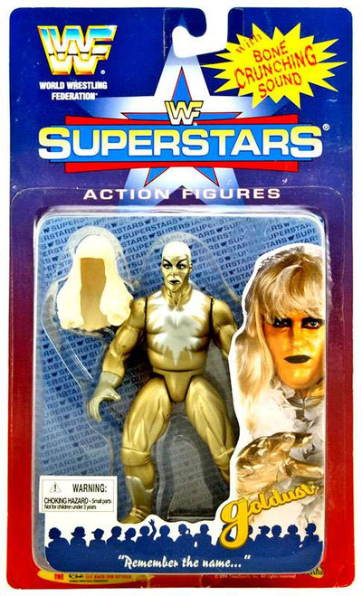 WWE Wrestling WWF Superstars Goldust Action Figure