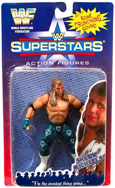 WWE Wrestling WWF Superstars Shawn Michaels Action Figure