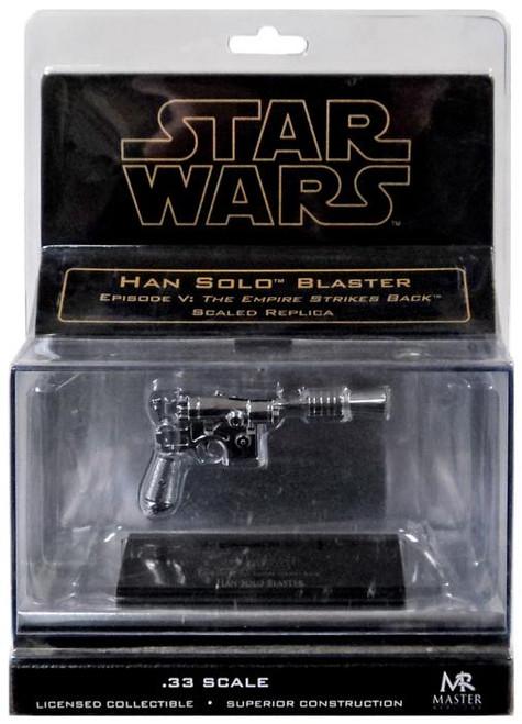 Star Wars The Empire Strikes Back Han Solo's Blaster Pistol .33 Prop Replica [Chrome]