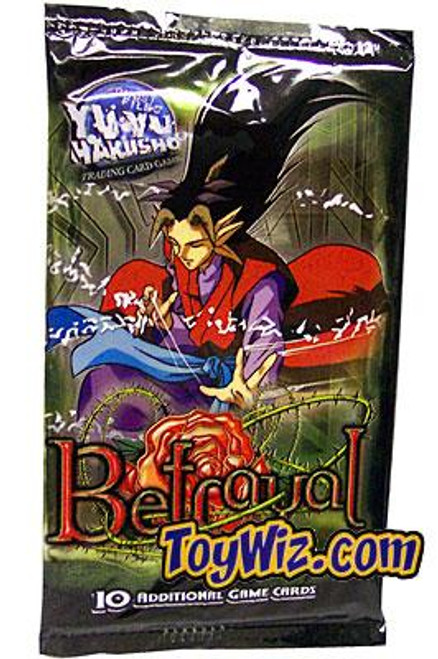 Yu Yu Hakusho Trading Card Game Betrayal Booster Pack