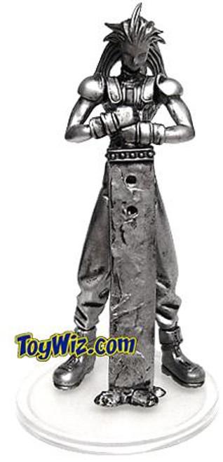 Final Fantasy Trading Arts Vol. 1 Zack Chase PVC Figure [Chrome Color]