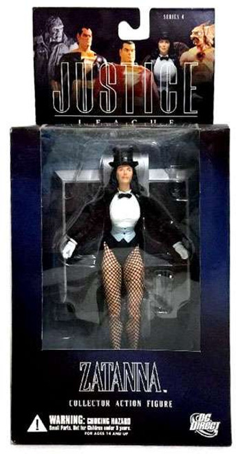DC Alex Ross Justice League Series 4 Zatanna Action Figure