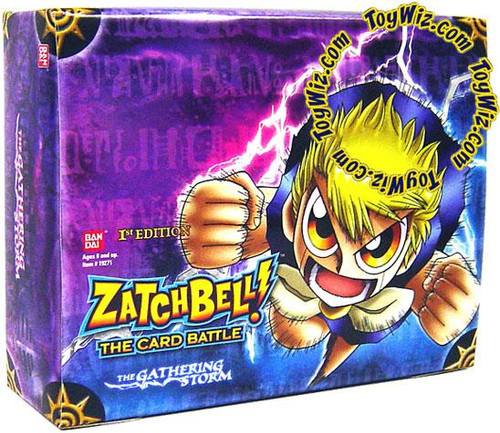 Zatch Bell Card Battle Game Gathering Storm Booster Pack
