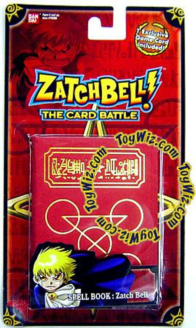 Zatch Bell The Card Battle The Gathering Storm Zatch's Red Spell Book Set [Red Card]