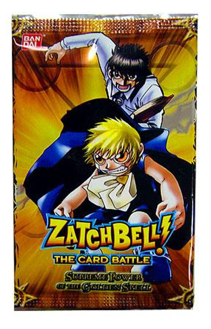 Zatch Bell Card Battle Game Supreme Power of the Golden Spell Booster Pack