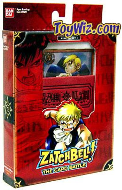 Card Battle Game Zatch Bell Theme Deck