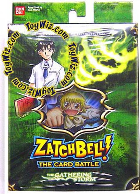 Zatch Bell Card Battle Game Gathering Storm Imminent Destruction Theme Deck [Green Box]