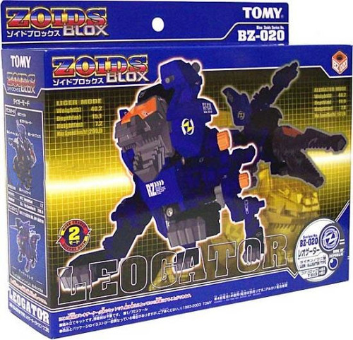 Zoids Blox Z Builders Leogator Model Kit BZ-020