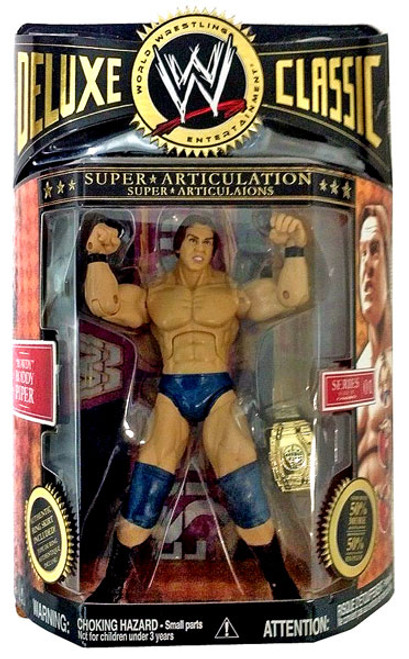 WWE Wrestling Deluxe Classic Superstars Series 1 Rowdy Roddy Piper Action Figure