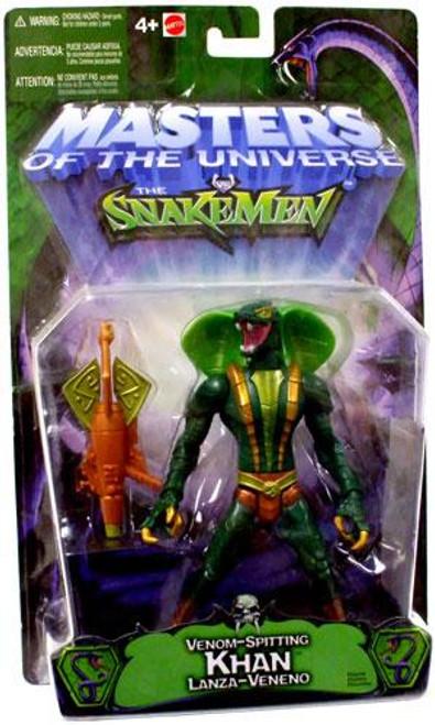 Masters of the Universe Vs. The Snake Men Khan Action Figure [Venom Spitting]