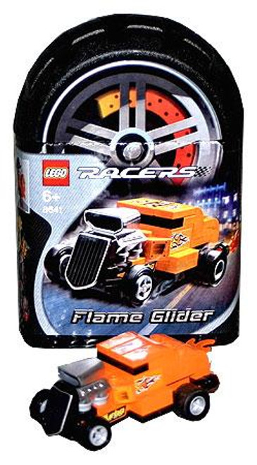 LEGO Racers Tiny Turbos Flame Glider Set #8641