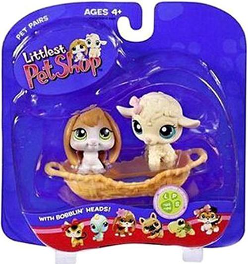 Littlest Pet Shop Pet Pairs Bunny & Lamb Figure 2-Pack