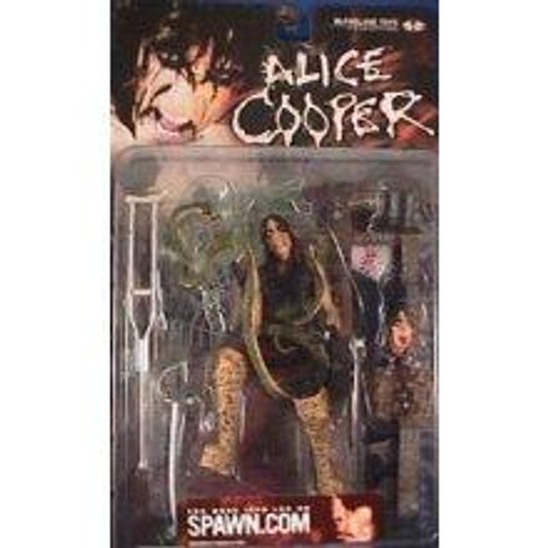 McFarlane Toys Rock 'n Roll Alice Cooper Action Figure