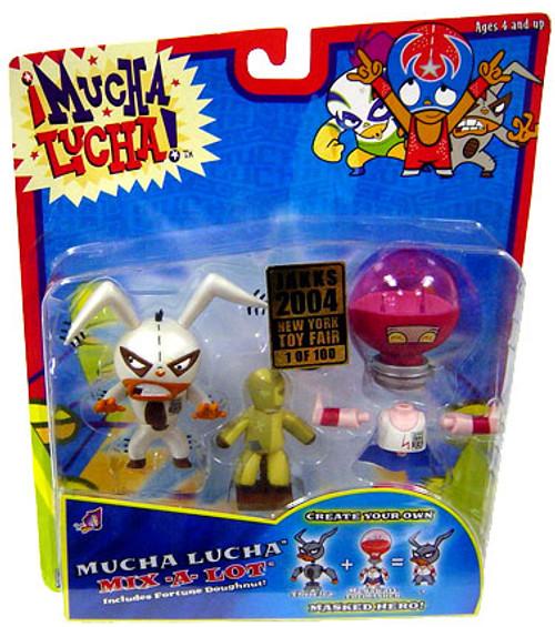 Mucha Lucha Megawatt the Masher & The Flea Exclusive Action Figure 2-Pack