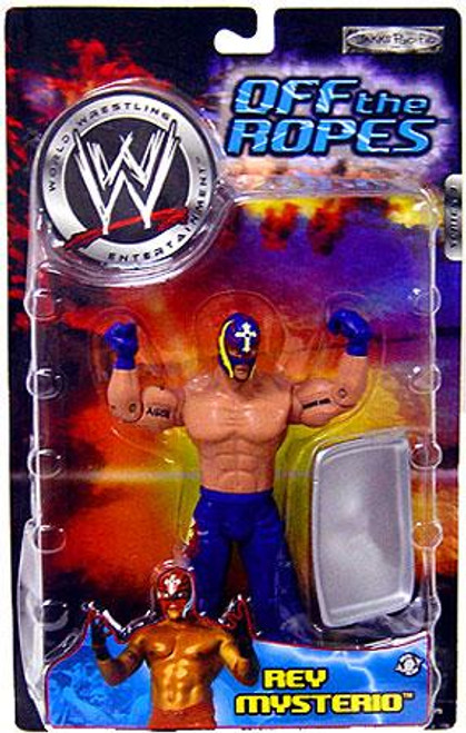 WWE Wrestling Off The Ropes Series 3 Rey Mysterio Action Figure
