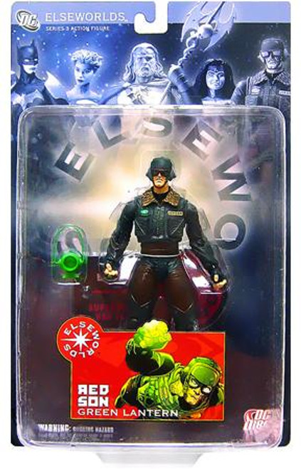 DC Elseworlds Series 3 Red Son Green Lantern Action Figure