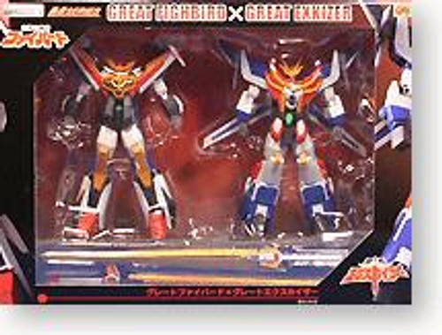 Gao Gai Gar Great Fighbird & Great Exkizer Action Figure 2-Pack