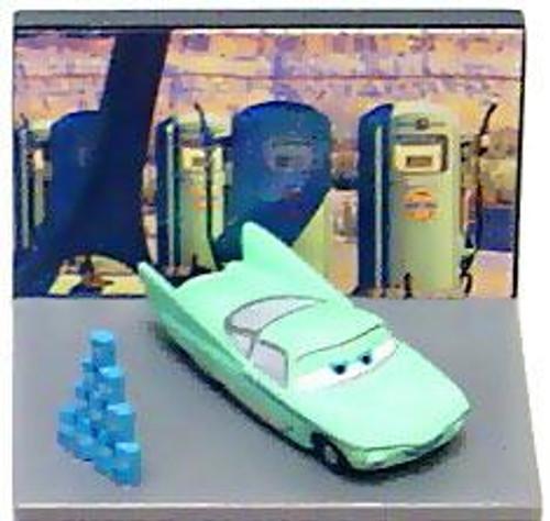 Disney Cars Gacha Micro Figures Flo PVC Figure