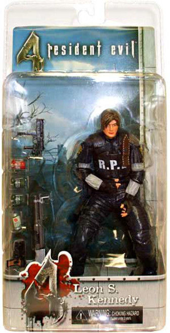 NECA Resident Evil 4 Exclusive Leon S. Kennedy Exclusive Action Figure