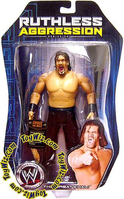 WWE Wrestling Ruthless Aggression Series 24 The Great Khali Action Figure