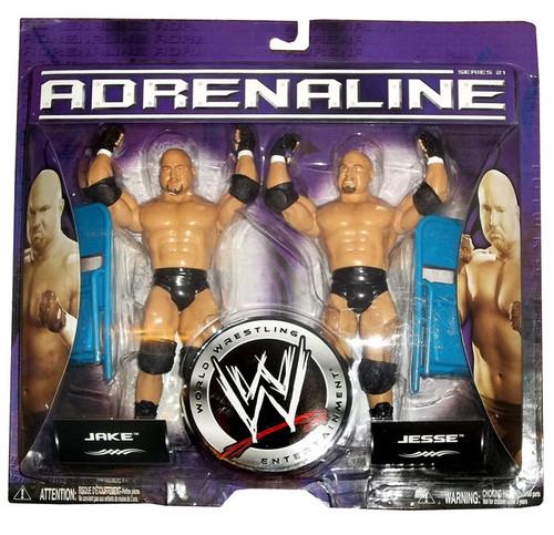 WWE Wrestling Adrenaline Series 21 Jake & Jesse Action Figure 2-Pack